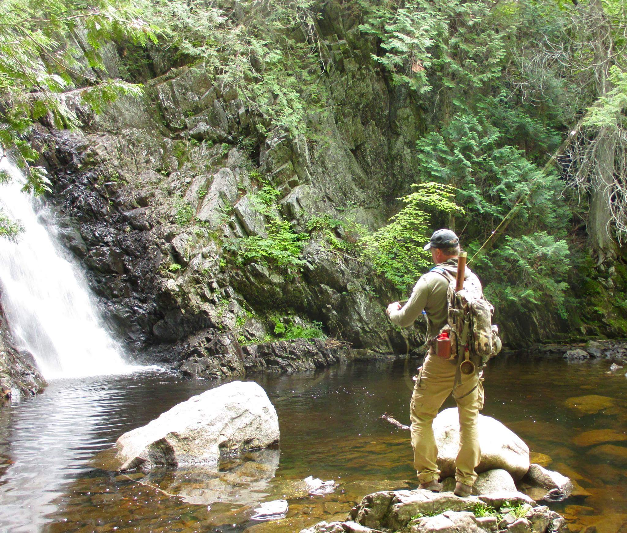 Fly fishing guided fishing trips at maine huts trails for Fishing in flagstaff