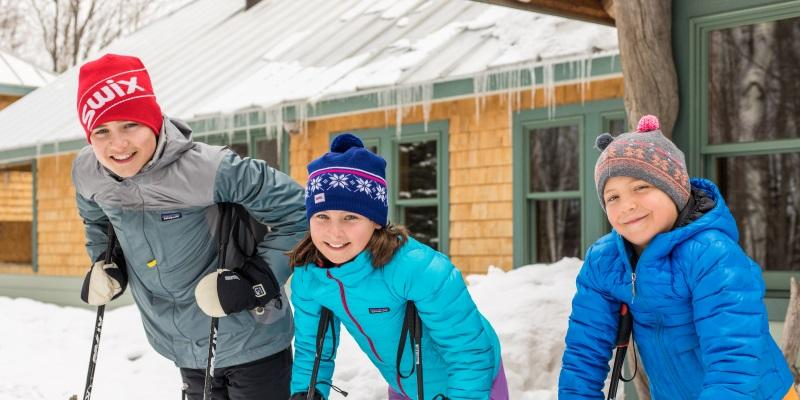 Winter trip to Maine with kids