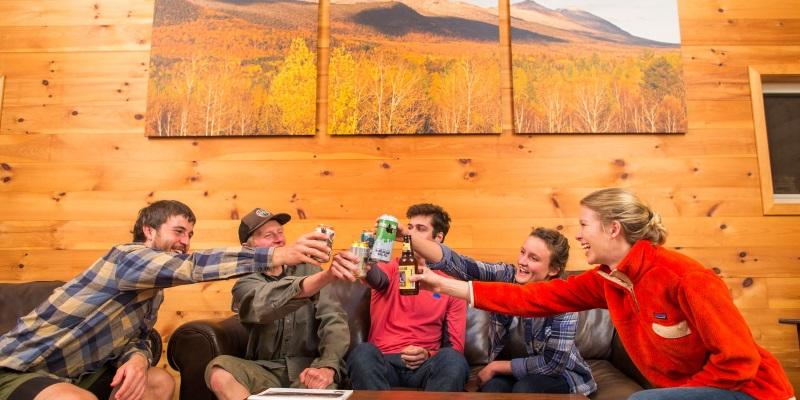 Group trip at Maine Huts & Trails