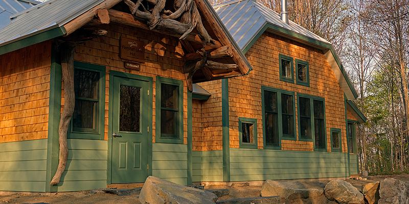 Flagstaff Hut entrance